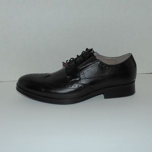 Deer Stags Shoes - Deer Stags Black Wing Tip Shoes Men Size 9 - 9.5